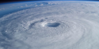 Hurricane Isabel in 2003, as seen from the International Space Station. (Image by Mike Trenchard, Earth Sciences and Image Analysis Laboratory, NASA Johnson Space Center)