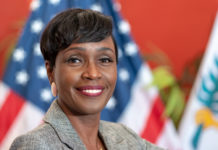 Attorney General Denise George. (2019 Government House photo)